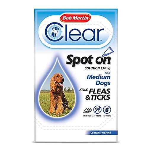 bob-martin-clear-spot-on-solution-3-x-134mg-for-medium-dogs-kills-fleas-ticks