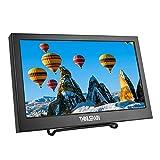 Thinlerain 11.6 Zoll Portable HDMI Monitor 1920X1080 mit HDMI/VGA Eingang Monitor Lautsprecher Eingebaut für PC Überwachungskamera Raspberry Pi Xbox360 PS4