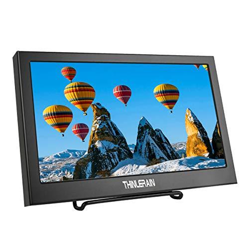 Thinlerain Monitor portátil HDMI VGA de 11