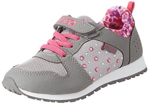 Lico Mädchen Rosalie Vs Sneaker, Grau (Grau/Pink), 30 EU
