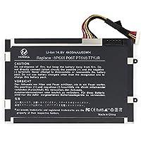 hongca Ultra ad alte prestazioni [Li-ion 4400mAh/14.8V] batteria di ricambio per Dell Alienware M11x M14x R1R2R3series PT6V88P6X 608P6X 6KR 08P6X 6t7yjr P06T