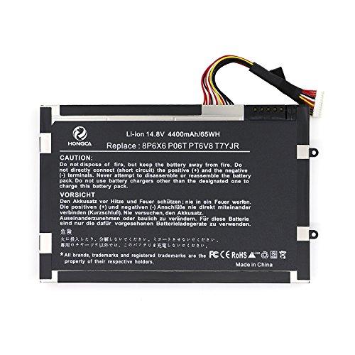 HONGCA® Ultra Hochleistung [Li-ion 4400mAh/14.8V] Laptop Ersatz Akku für Dell Alienware M11x...