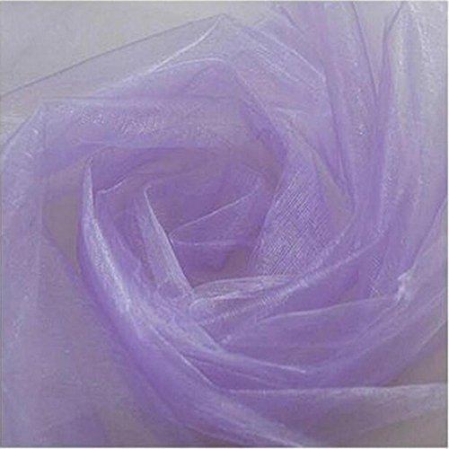 Hunpta 300cm * 48cmcm organza tessuto di organza per matrimonio sfondo decorazione
