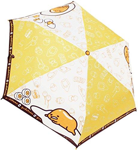Sanrio Personaggi ombrello per bambini pieghevole ombrello tehiraki Gudetama moderno Otto Bone 55cm 100~ 110cm [Regular Agenzia merci]
