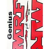 OM Enterprises MRF Virat Kohli Cricket Bat Sticker