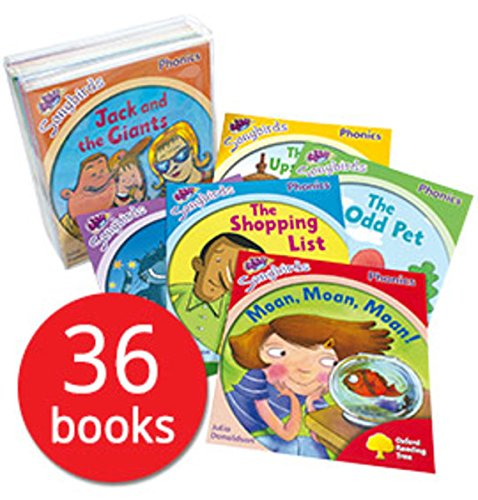 Oxford Reading Tree, Songbirds Phonics Collection 36-Books Set RRP128.82 (Stage 1+, 2, 3, 4, 5and6) (Oxford Reading Tree) by Julia Donaldson (2011) Paperback