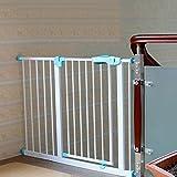 Extra Breit Baby Gate Druck montiert Indoor Safety Gate Einstellbar Welpen Haustier Laufgitter für Treppe Tür Weg Weiß, 75-194cm Breit, Höhe 77cm (Größe : 75-84cm)