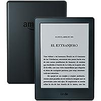 E-reader Kindle, pantalla táctil antirreflejos de 6'' (15,2 cm), Wi-Fi (Negro)