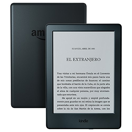 E-reader Kindle, pantalla táctil...