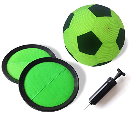 """My Mini Golf \""""Kick and Stick Indoor-Fußball-Torwand für Kinder, klein, Grün"""