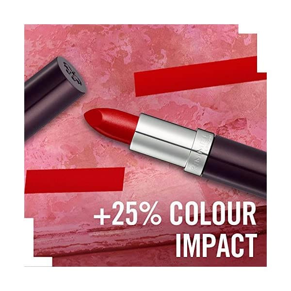Rimmel Humedad Lipstick Heather Shimmer nuevas energías 220