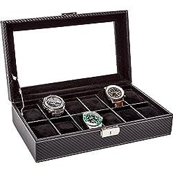 LA ROYALE CLASSICO 12 CARBON Uhrenbox