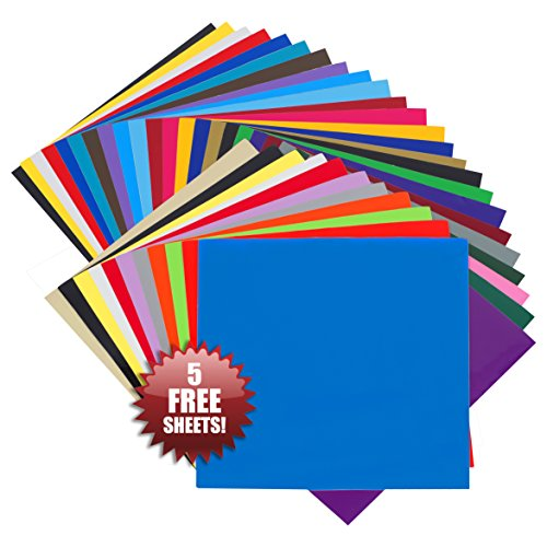 feuilles-en-vinyle-auto-adhsives-angel-crafts-305x305cm-lot-de-35-meilleur-assortiment-vinyle-perman