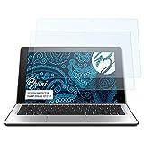 Bruni Schutzfolie für HP Elite x2 1012 G1 Folie - 2 x glasklare Displayschutzfolie