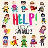 Best Books Three Year Olds - Help! I Need My Superheroes!: A Fun Where's Review