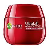 Garnier Ultra Lift Complete Beauty straffende Anti-Falten Tagespflege trockene Haut (extra reichhaltige Gesichtscreme mit natürlichem Pro-Retinol, dermatologisch getestet) 1 x 50ml