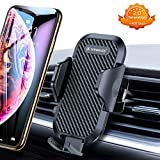 VANMASS [2019 Neueste] Handyhalterung Auto Lüftung KFZ Handyhalter fürs Auto Handy Halter Universal für iPhone Samsung Galaxy Huawei Mate LG und jedes andere Smartphone, Schwarz