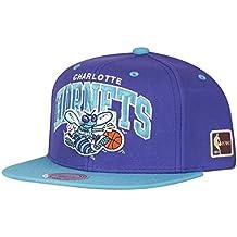Mitchell   Ness Charlotte Hornets Team Arch Snapback NBA Cap W HWC Patch adda93acf37