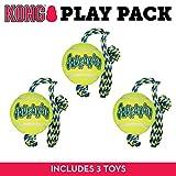 Best Juguetes para perros Kong para perros grandes - Kong - Pelota de Aire con Cuerda de Review