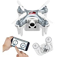 LeGow Cheerson CX-10WD-TX Mini Wifi FPV RC Drone High Hold Mode with HD Camera Remote Control 2.4G 6-axis Quadcopter RTF Mode Switch - Compare prices on radiocontrollers.eu
