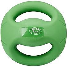 Carnegie 5kg de fuerza de fútbol balón medicinal con asas Fitness Peso pelota de entrenamiento
