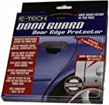 E-Tech Black Door Edge Guard Protector Scratch Resistant