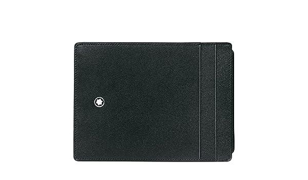 Montblanc Meisterstück pochette 4cc avec porte-carte d'identité - MB30871 NM0TyEI