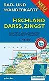 Rad- und Wanderkarte Fischland, Darß, Zingst: Mit Dierhagen, Wustrow, Ahrenshoop, Born, Wieck, Prerow, Zingst, Barth. Maßstab 1:30.000. Wasser- und reißfest.