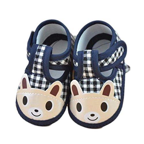 Yogogo - Chaussures - Fille Garçon - Semelles souples Crib Casual Prewalker - Toile espadrille