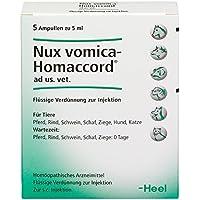 nux vomica homaccord ampullen vet. 5 St preisvergleich bei billige-tabletten.eu