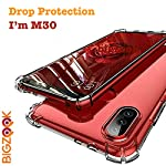 BIGZOOK Soft TPU Transparent All Sides Protection Back Case Cover for Samsung Galaxy M30 [ Transparent]