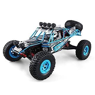 CR Car AP Motorfahrzeug 1:12 RC Auto 4WD High Speed Off Road Ferngesteuertes Auto 40km / h 2,4 GHz Monster Truck Buggy Racing Spielzeug Elektrofahrzeug Rock Crawler für Kinder und Erwachsene