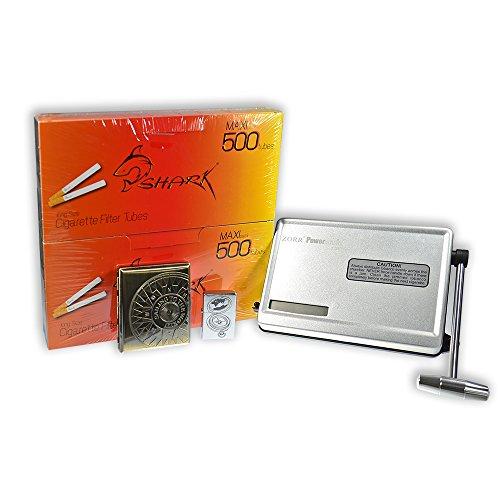 Weltneuheit - Powermatic 150 - Luxus Stopfmaschine der Extraklasse - KOMBISET, Farbe:Silber Metallic
