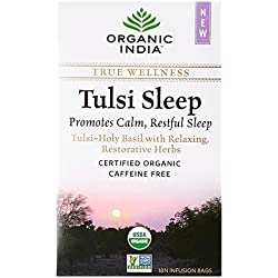 Organic India Tulsi Sleep - 18 Tea Bags