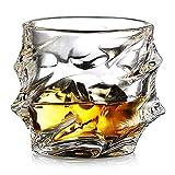 Ecooe 320ml bicchieri tumbler per whisky, scotch, bourbon, e altro ancora. Set di 2