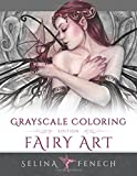 Fairy Art - Grayscale Coloring Edition: Volume 1 (Grayscale Coloring Books by Selina)