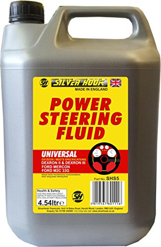 Silverhook SHS5 Universale Power Steering Fluid, 4.54 Lit
