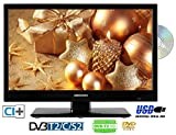 MEDION 18,5Zoll 47cm 230Volt DVD-PLAYER DVB-S2/C/T2 HD TV H.265 HEVC