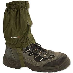 51TOTKw8G8L. SS300  - Adtrek Outdoor Hiking/Walking/Trekking Waterproof Boot Ankle Legging Gaiters, Fits Sizes UK 5 - 11.5