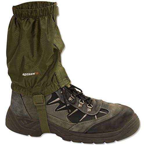 51TOTKw8G8L. SS500  - Adtrek Outdoor Hiking/Walking/Trekking Waterproof Boot Ankle Legging Gaiters, Fits Sizes UK 5 - 11.5