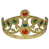 Spassprofi Krone Prinzessin Prinz König Königin Diadem Faschingskostüm Königin Königskrone Princess