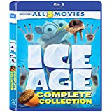 Ice Age: The Complete 5 Movies Collection - Ice Age + Ice Age 2: The Meltdown + Ice Age 3: Dawn of Dinosaurs + Ice Age 4: Continental Drift + Ice Age 5: Collision Course
