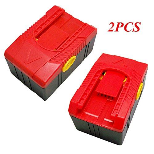 Ersetzen Werkzeug akku für Snap on CTB6187 CTB6185 CTB4187 CTB4185 18V 54Wh (2 STÜCKE) Snap On Akku