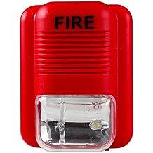 Uhppote suono e luce allarme incendio sistema di sicurezza attenzione Strobe corno sirena di allarme sensore