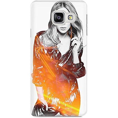 Scarlett Johansson Latex Suit Samsung A510 caso