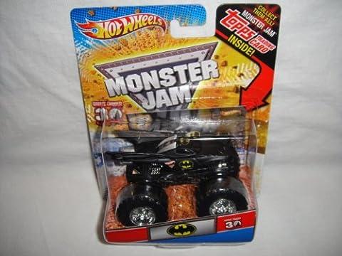 HOT WHEELS MONSTER JAM 2012 TOPPS EDITION BATMAN BATMOBILE MONSTER JAM TRUCK DIE-CAST by MATTEL (English