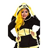 Lightning Hood Outerwear YELLOW Alternative emo goth punk osiris fashion Ladies New Sealed with tags