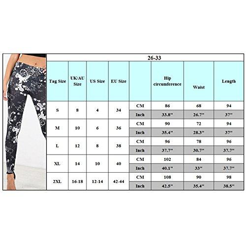 hibote Femmes Skater Robe trapèze à manches longues imprimé Top B6