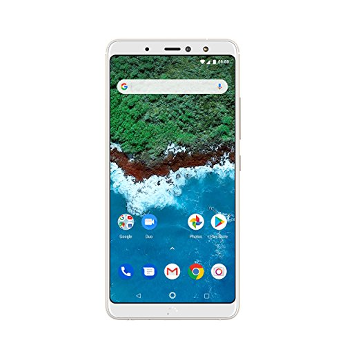 BQ Aquaris X2 Pro Smartphone white/glaze white (5,65 Zoll FHD+, Qualcomm Snapdragon 660, 64 + 4 GB RAM, 12 MP + 5 MP Dual-Kamera, NFC, Fingerabdrucksensor, USB-C, Quick Charge 4+, Android 8.1.0 Oreo) (Iphone 6 64 Entsperrt)