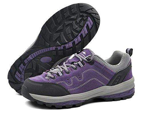 Z&HX sportsEscalade Ext¨¦rieure X Chaussures Randonn¨¦e Loisir Loisirs Chaussures Respirantes Antid¨¦rapantes Purple
